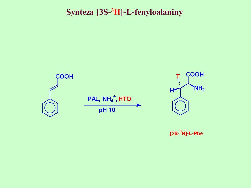 Synteza [3S-3H]-L-fenyloalaniny